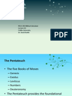 Bibical Liturature Lecture 03 the Pentateuch