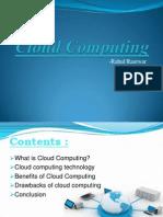 Cloud Computing PPT by Rahul