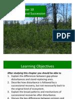 Ch 10 Disturbance and Succession