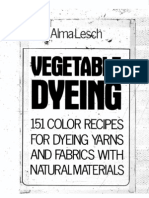 Vegetable Dying