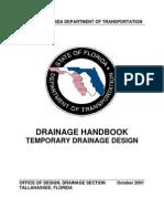 Temporary Drainage Hb