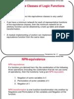תכן לוגי מתקדם- הרצאה 2   NPN Classification