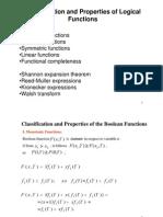 תכן לוגי מתקדם- הרצאה 3 (המשך)   Functional Classification