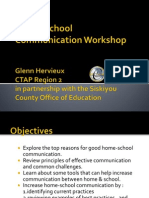 Home-school Communication Powerpoint