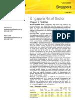 Kim Eng Singapore Retail Sector 090712