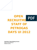 Open Recruitment Pgd 2012