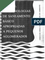 Manual de Tecnologias de Saneamento Basico Apropriadas a Pequenos a