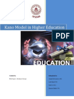 Kano Model Serviqual Education