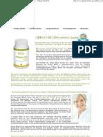 Bio Ginkgo Biloba für Durchblutung und Gedächtnis - Ginkgo Extrakt Tinnitus