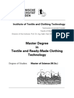 MSc Syllabus Textile Technology_Dresden_Germany