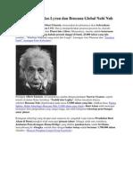 Albert Einstein, Ras Lyran Dan Bencana Global Nabi Nuh