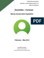 GVI Report 2012- Curieuse