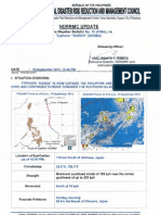 NDRRMC Update SWB No. 10 (Final) Re Typhoon Karen
