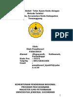 Peningkatan Bobot  Telur Ayam Kedu dengan Metode Seleksi di Desa Kedu, Kecamatan Kedu Kabupaten Temanggung