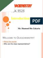 OLEOCHEMISTRY_Chapter 1- Introduction