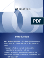 Digital System Design - Built in SelfTest
