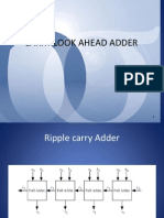VLSI - Carry Lookahead Adder