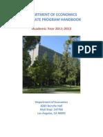 Graduate Program Handbook
