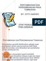 Pertumbuhan Dan Perkembangan Tumbuhan STF SMT 2