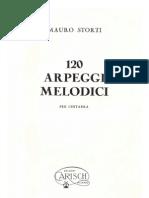 Mauro Storti - 120 Arpeggi Melodici