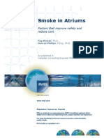 Smoke in Atrium