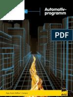 Agip Automotivprogramm Broschüre
