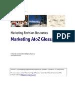 Marketing Glossary