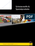 Agip Schmierstoffe & Spezialprodukte Broschüre 2011