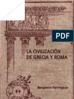 Benjamin Farrington - La Civilizacion de Grecia Y Roma