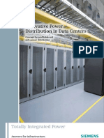 Innovative Power Distribution in Data Centers