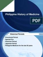 Philippine History of Medicine