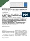 Recommandations Sur Les Indications de l'Assistance Circulatoire Dans Le Traitement Des Arrets Cardiaques Refractaires