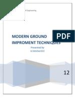 Modern Ground Improvement Techniques