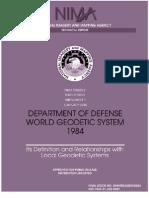 World Geodetic System 1984