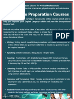 OET Online Course Brochure_2012