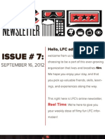 LFC Reel Time Newsletter | Issue 7