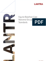 British Equine Barefoot Care National Occupational Standards (NOS) (April 2010)