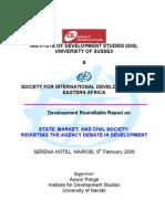 PONGE - IDS - SID Roundtable Report