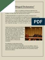 IYC Bilingual Declamatio1(Muhammad Saad MCS Declamation)