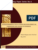 Adugna, Ford - Intergovernmental Fiscal Systems and Development Aid