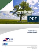 e-Zsigma Lean Six Sigma 2012 Fall Operational Excellence Brochure