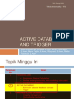 2.1 Active Database and Triggerv2