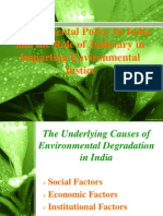 Environment Policy and the Role of Judiciary in India New