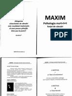 MAXIM-Psihologia Motivarii Fortei de Vanzari