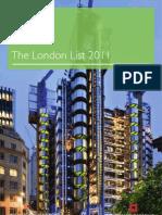 English Heritage's London List 2011