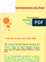 Perform Achieve and Trade (PAT) Scheme