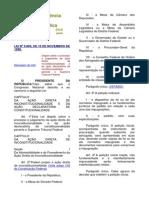 Lei 9.868-99 (Proc. Adi e Adc No Stf)