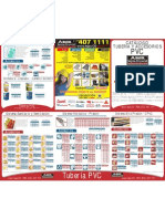 listado de precios 2012 Tuberia Durman PVC