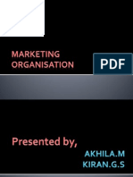 Marketing Organisation