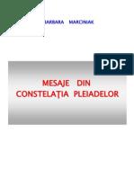 Mesaje Din Constelatia Pleiadelor